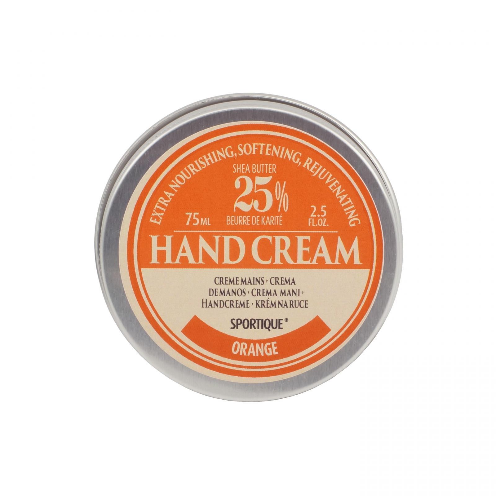 Sportique Krém na ruce a nehty Pomeranč 75 ml