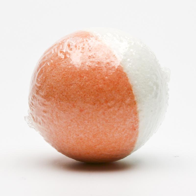Ceano Cosmetics Šumivá koule do koupele mandarinka 1 ks, 125 g