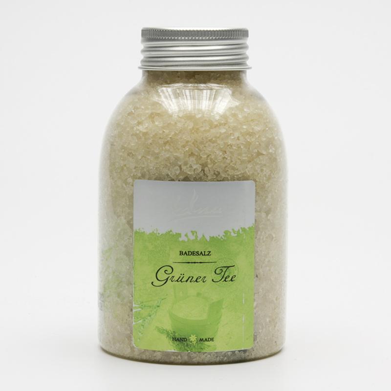 Kanu  ZRUŠENO Koupelová minerální sůl zelený čaj 550 g
