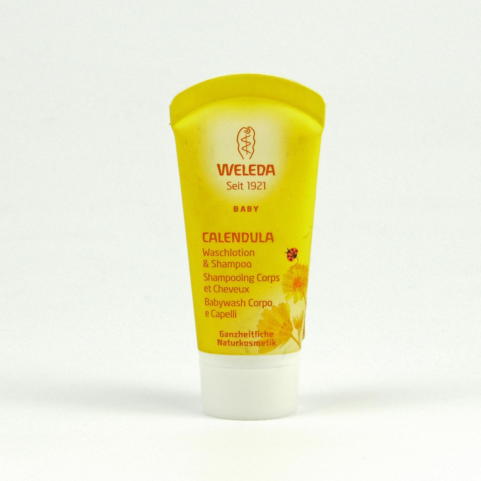 Weleda Měsíčkový dětský šampon 20 ml