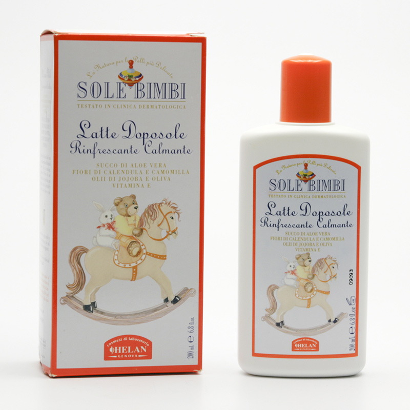 Hanna Maria Dětské mléko po opalování, Sole Bimbi 200 ml