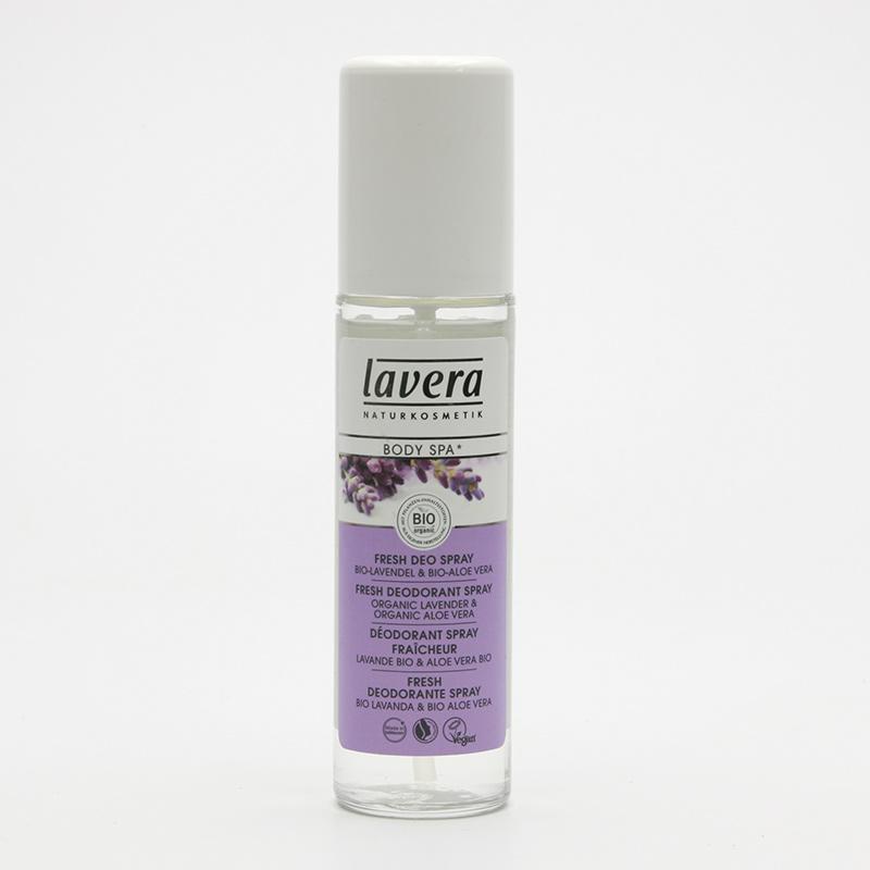 Lavera Deodorant sprej levandule a aloe vera, Body Spa 75 ml