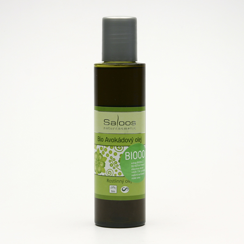 Saloos Avokádový olej, bio 125 ml