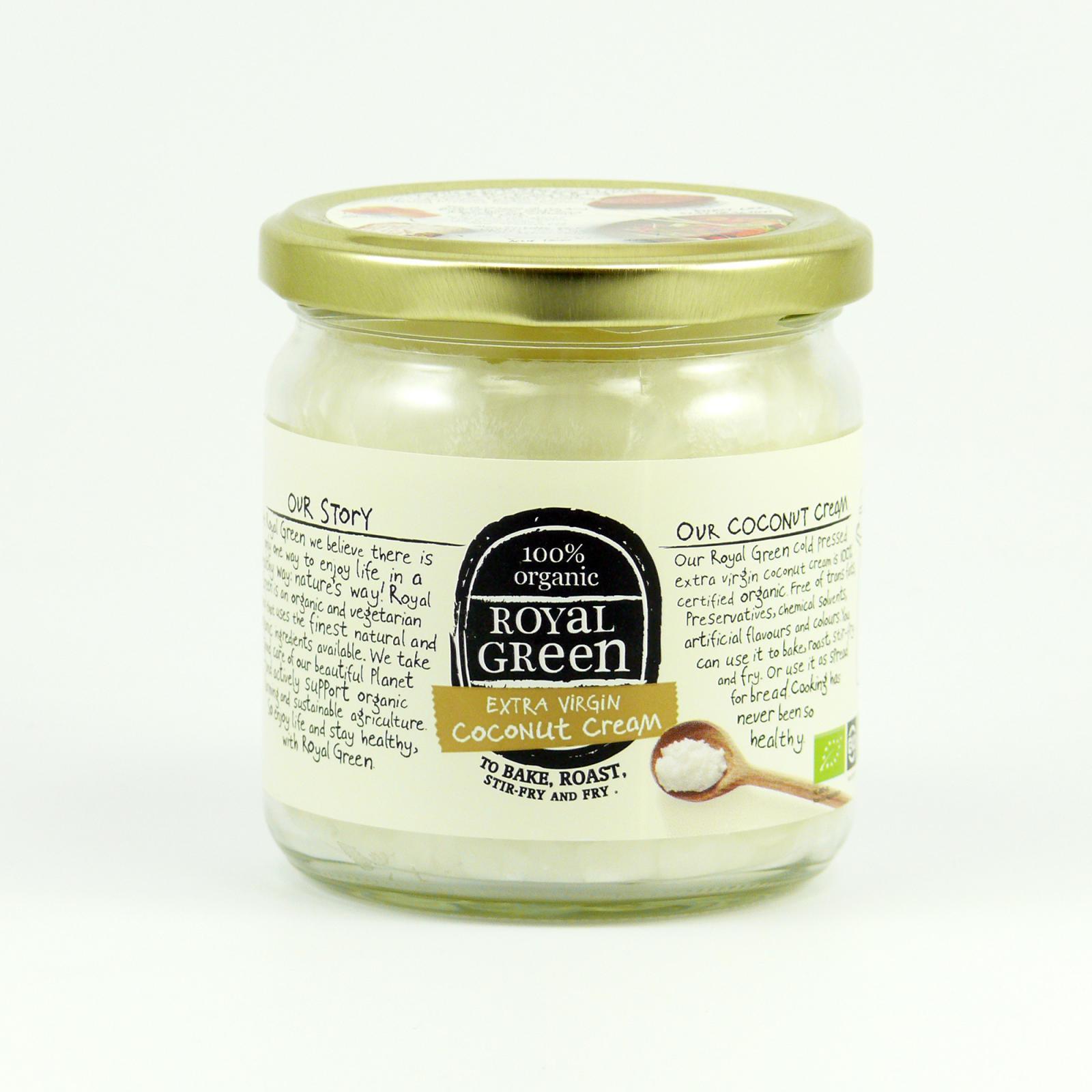 Royal Green Kokosový olej bio, extra panenský 325 ml