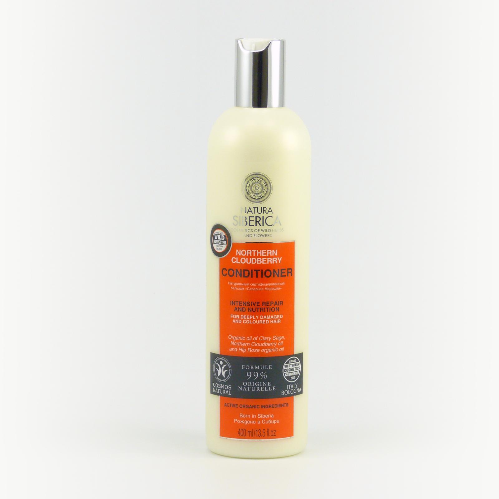 Natura Siberica Kondicionér pro silně poškozené a barvené vlasy 400 ml