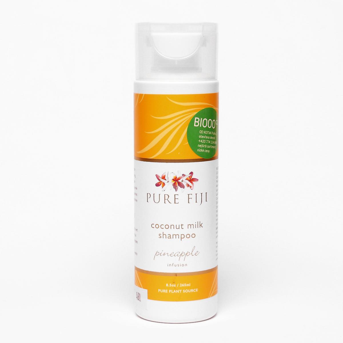 Pure Fiji Kokosový šampon, ananas 265 ml