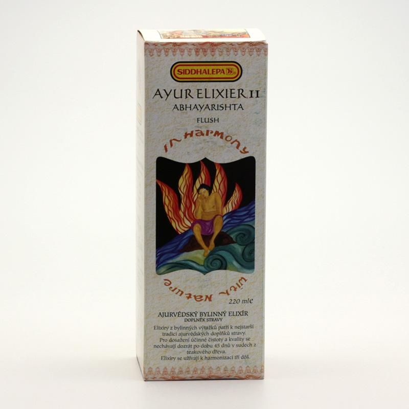 Siddhalepa Ayur elixír č. 11 Abhayarishta 220 ml