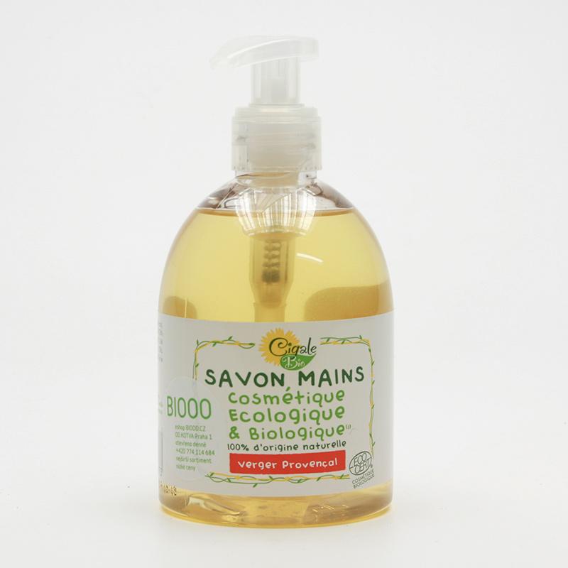 Cigale BIO Tekuté mýdlo Provensálský sad 300 ml