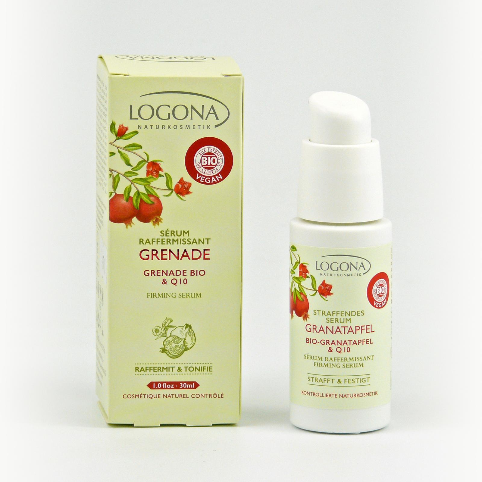 Logona Zpevňující sérum, Granátové jablko 30 ml