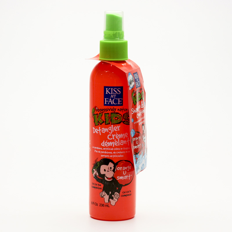 Kiss My Face Corp. Dětský rozčesávač vlasů Pomeranč 236 ml