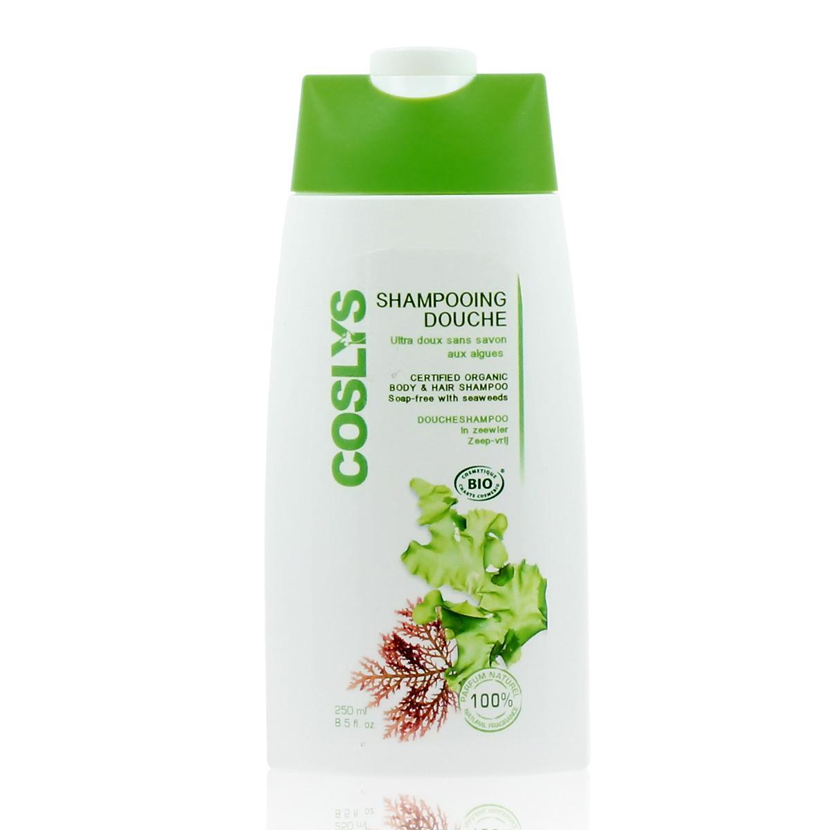 Coslys Sprchový šampon bez mýdla řasy 250 ml