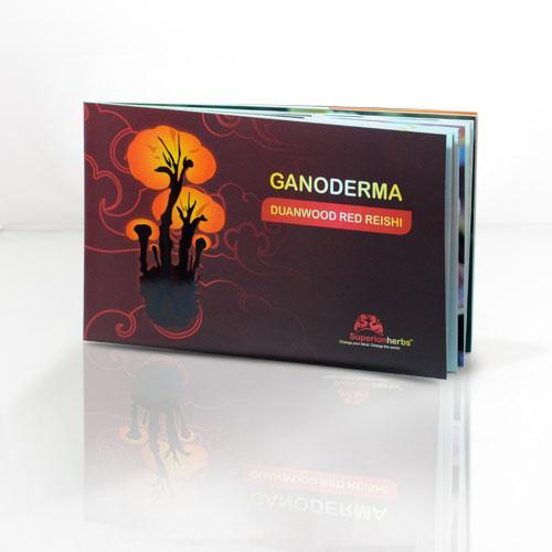 Superionherbs Brožura Ganoderma - Reishi 45 stran