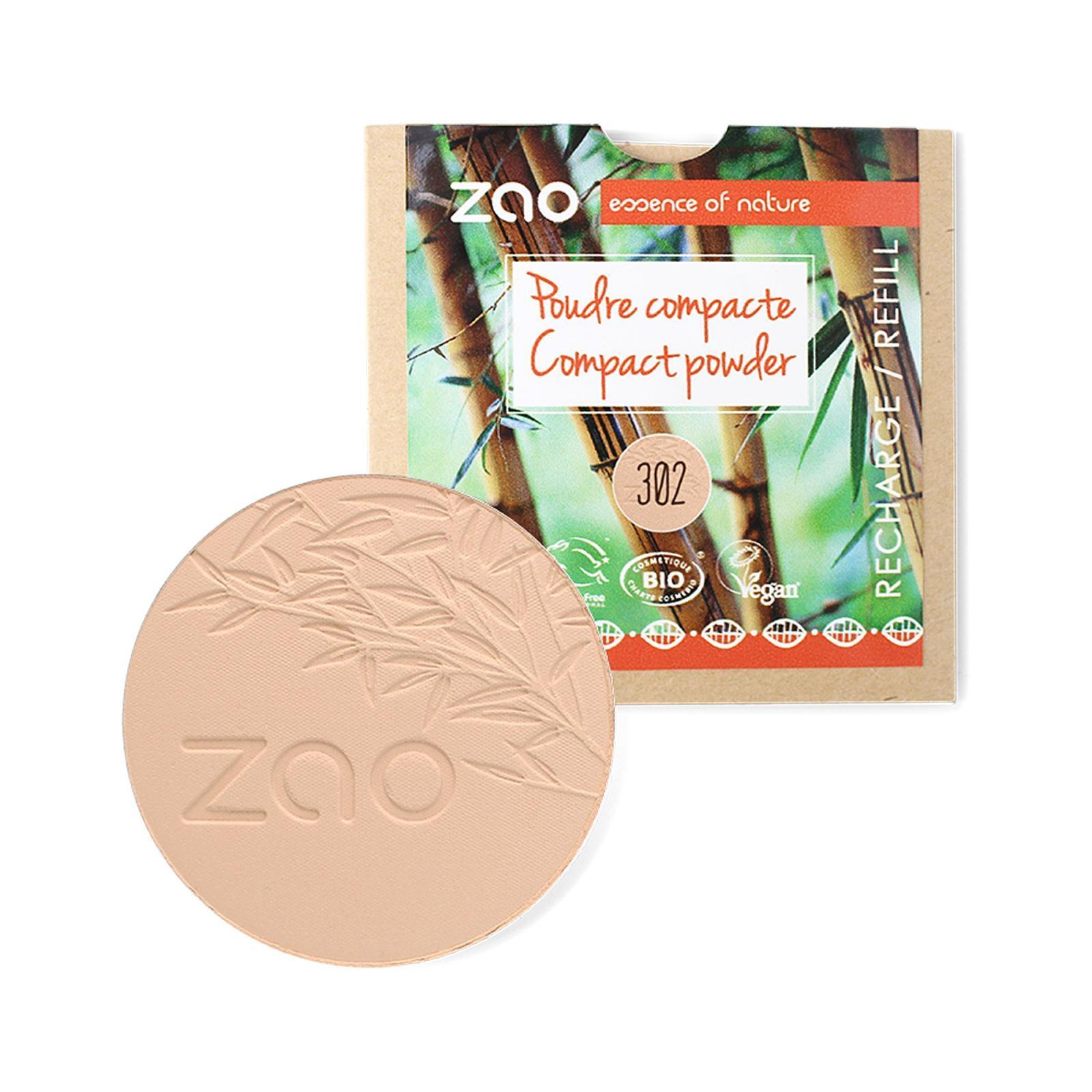 ZAO Kompaktní pudr 302 Beige Orange 9 g náplň