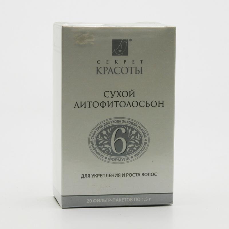 Hloubková hygiena kůže Litofyto-tonik 6, na zpevnění a růst vlasů