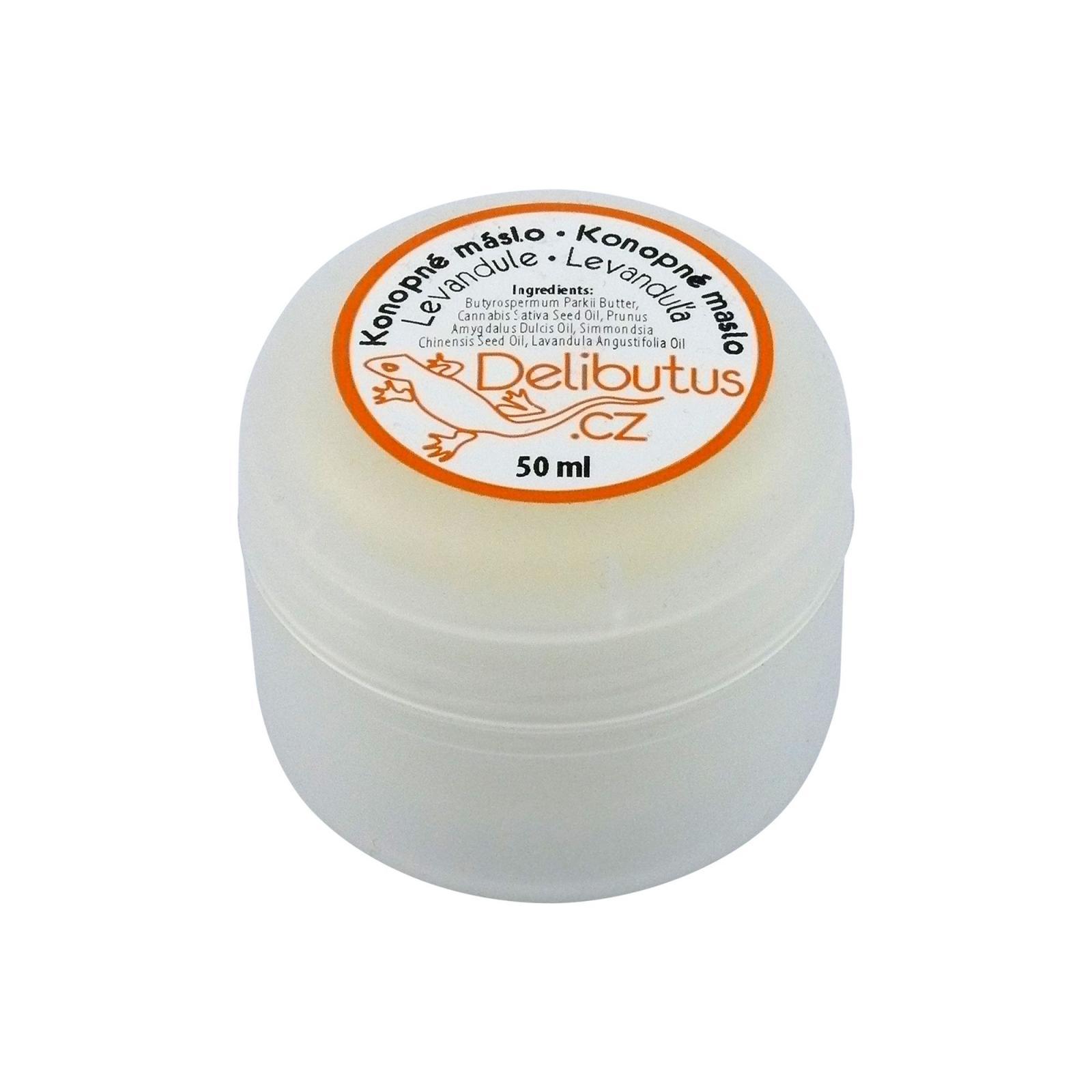 Delibutus Konopné máslo Levandule 50 ml