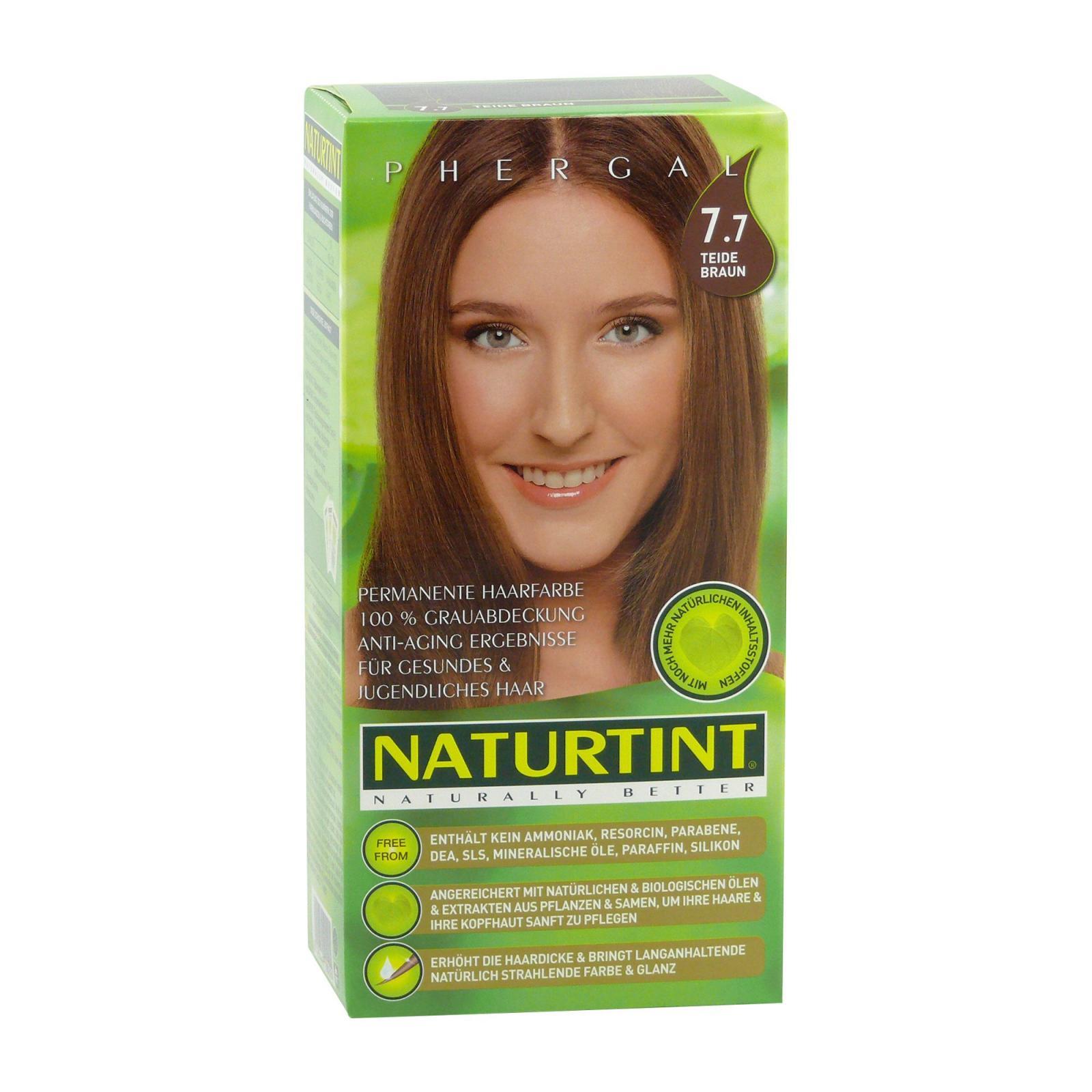 Naturtint Barva na vlasy 7.7I hnědá teide 165 ml