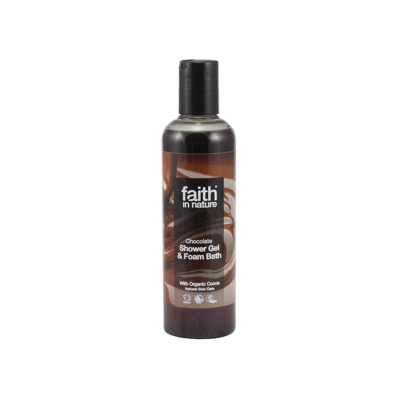 Faith in Nature Sprchový gel čokoláda 250 ml