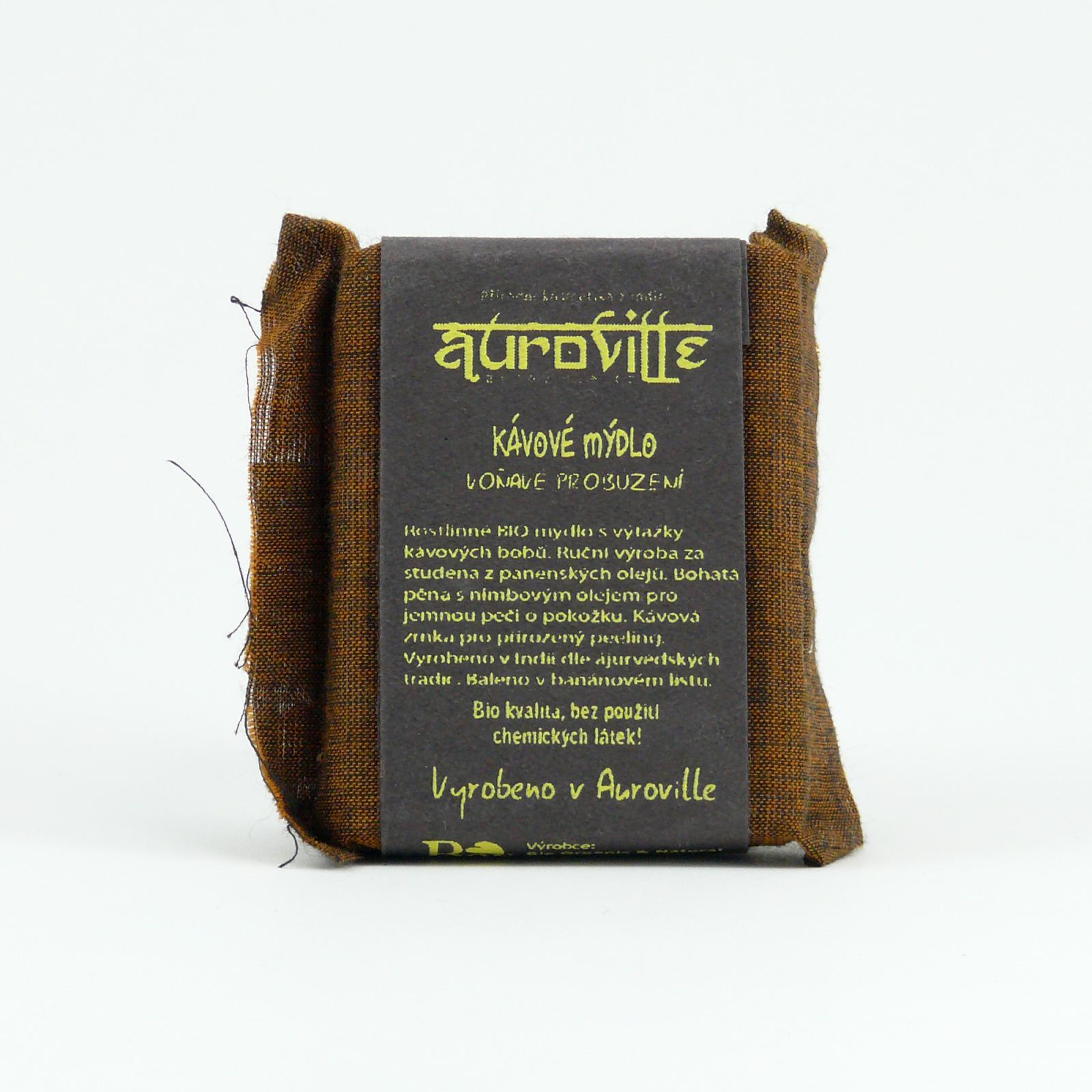 Auroville Mýdlo káva, Bon Auroville 50 g