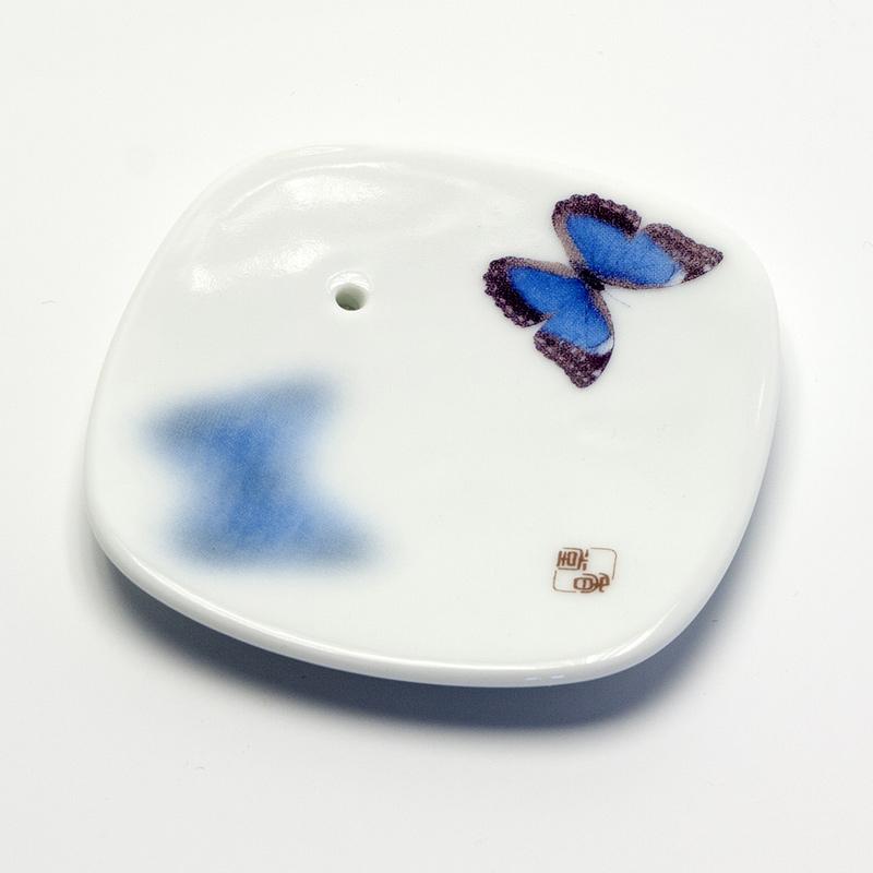 Yume-no-Yume Stojánek na japonské vonné tyčinky Butterfly 1 ks