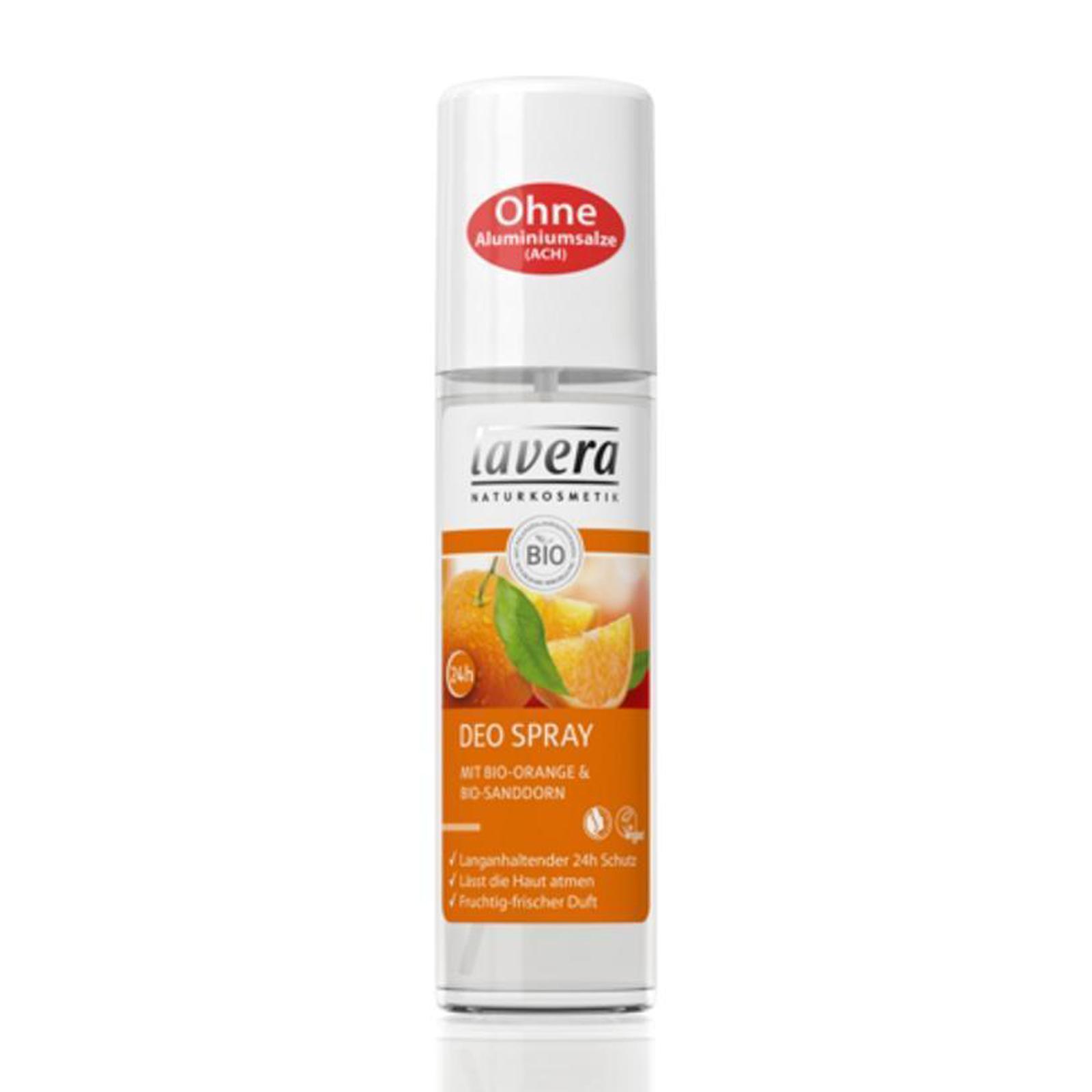 Lavera Deodorant sprej pomeranč a rakytník, Body Spa 75 ml
