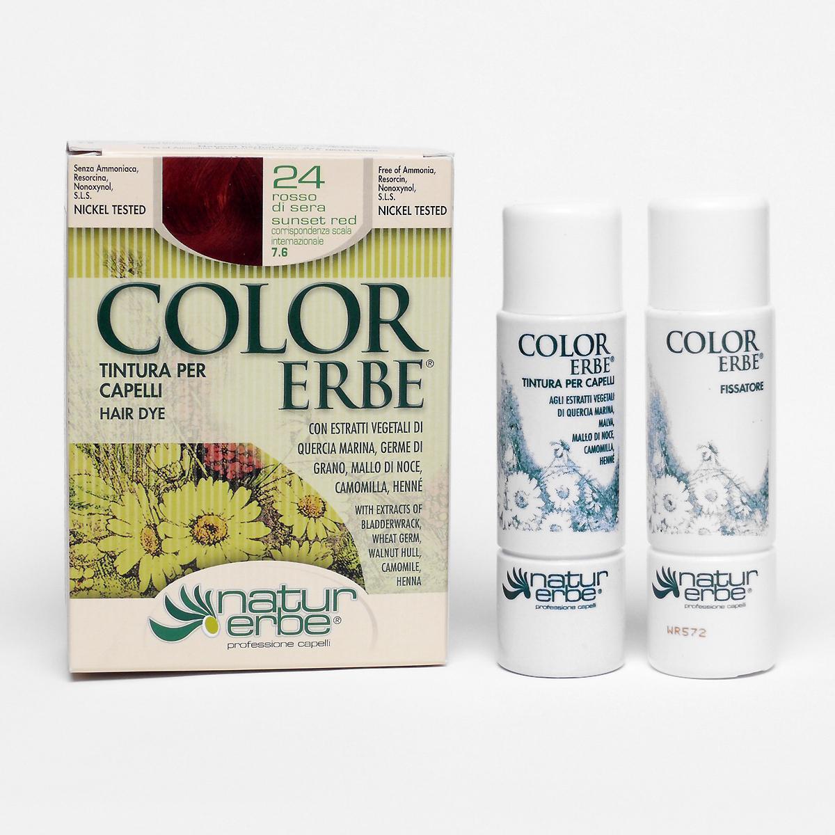 Color Erbe Barva na vlasy Červánková 24, Natur 135 ml