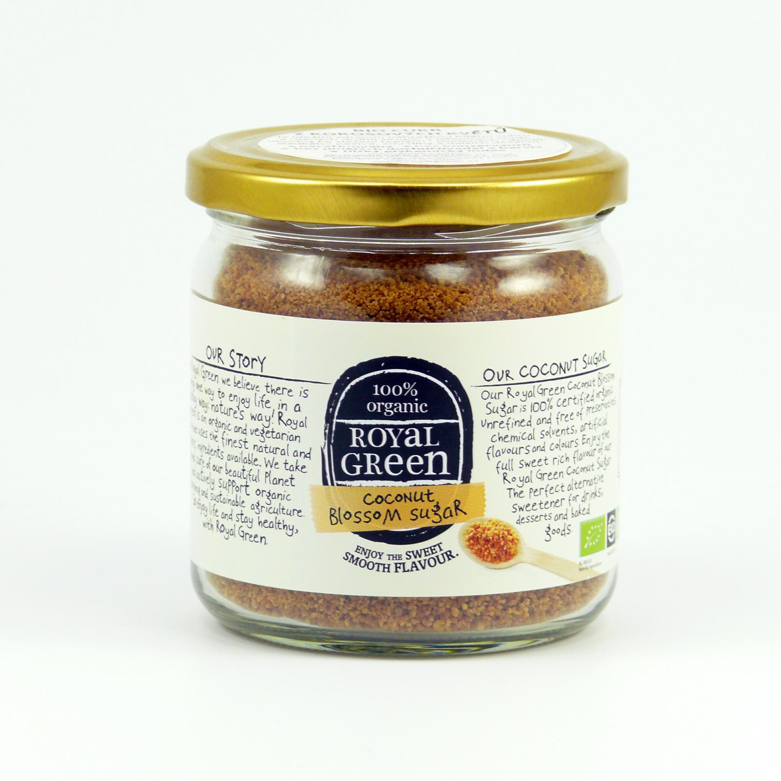 Royal Green Kokosový cukr bio 200 g
