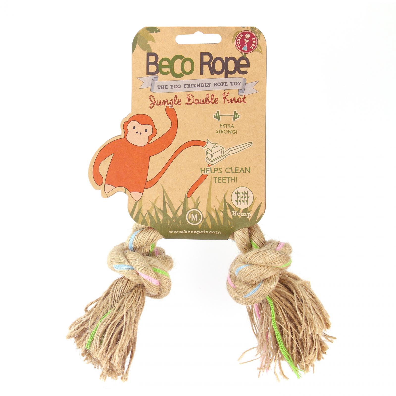 Beco Pets Beco Rope Jungle Double Knot Medium 1 ks