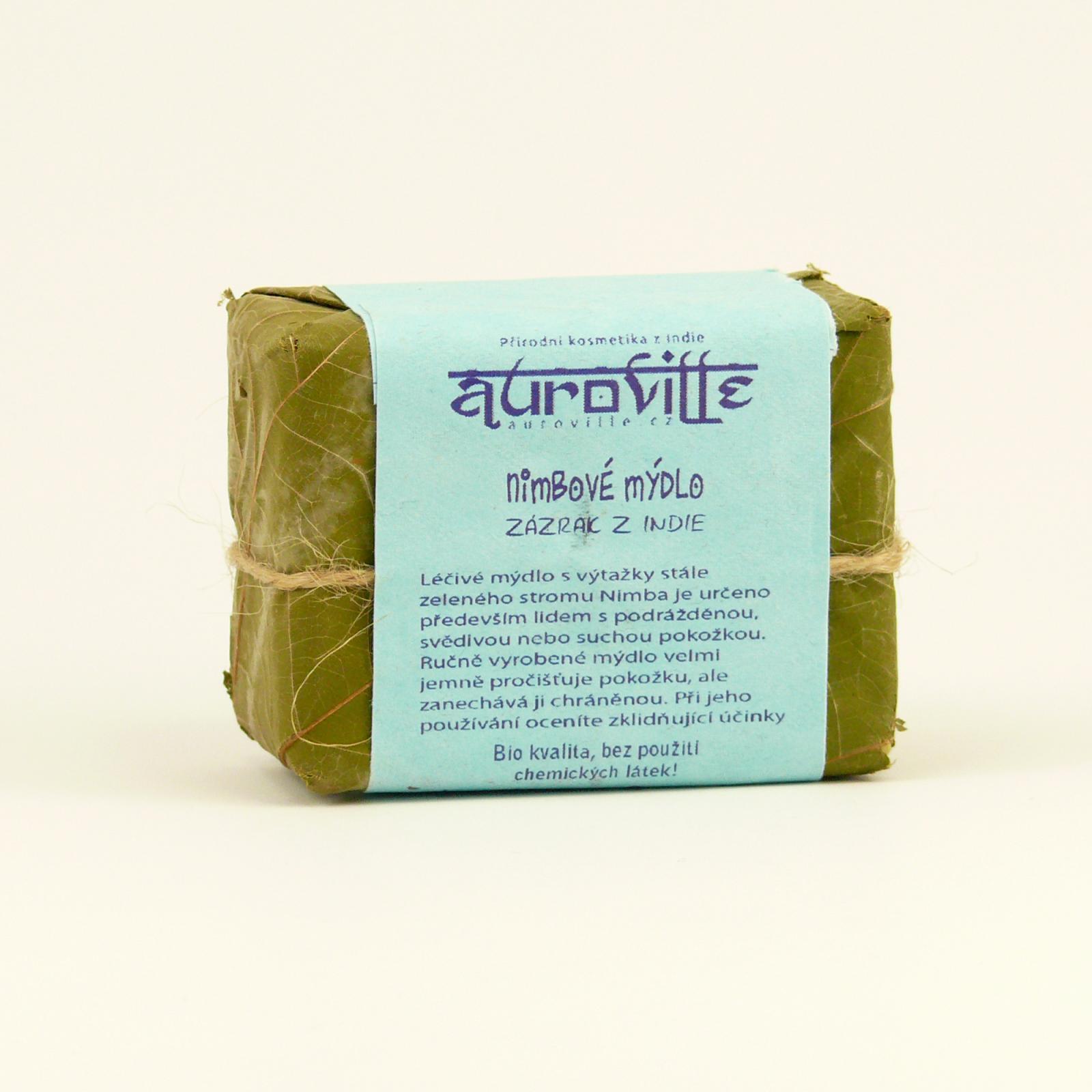 Auroville Mýdlo nimba, Bon Auroville 100 g