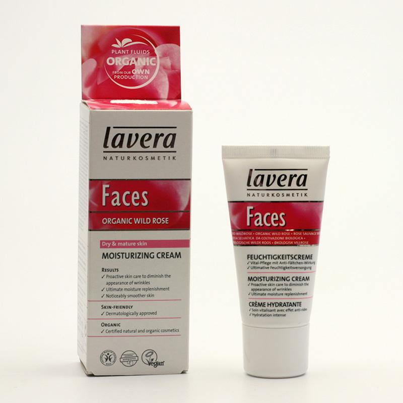Lavera xxKrém hydratační divoká růže, Faces 30 ml