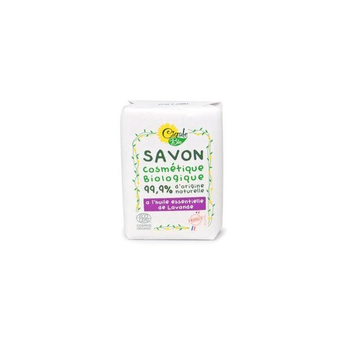 Cigale BIO Mýdlo s levandulovým olejem 100 g