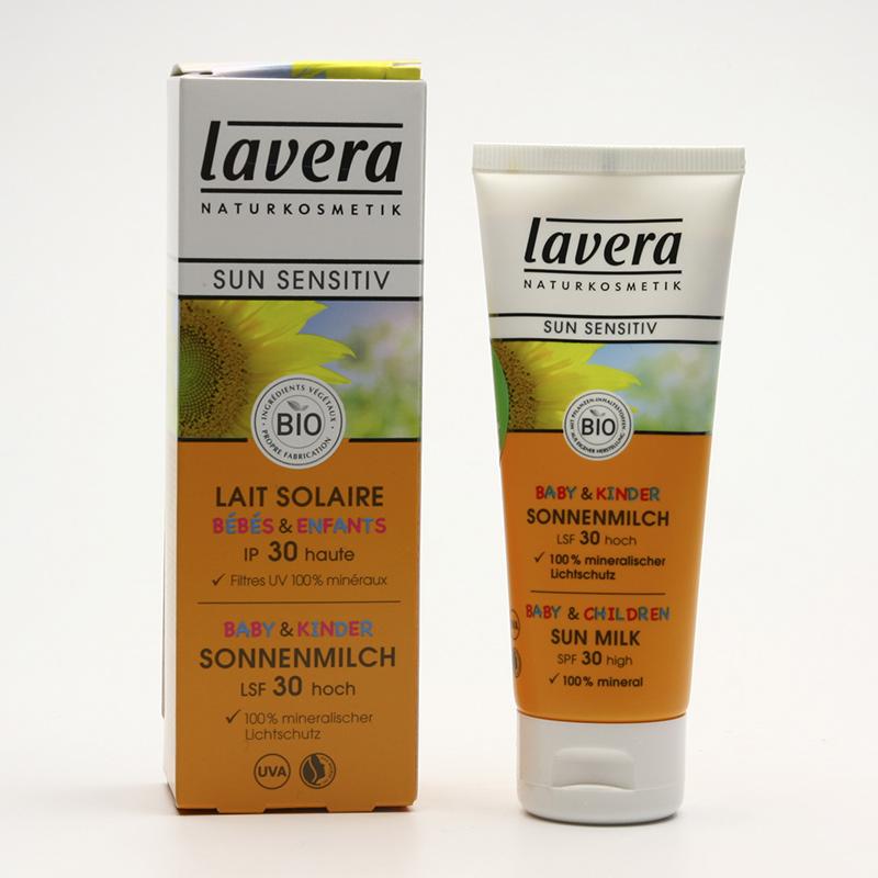 Lavera Mléko opalovací pro děti SPF 30, Sun Sensitive 75 ml