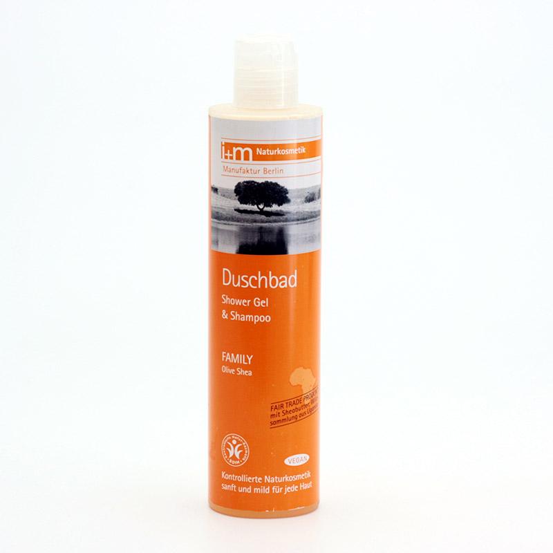 I+M Naturkosmetik Sprchový gel a šampon Family 250 ml