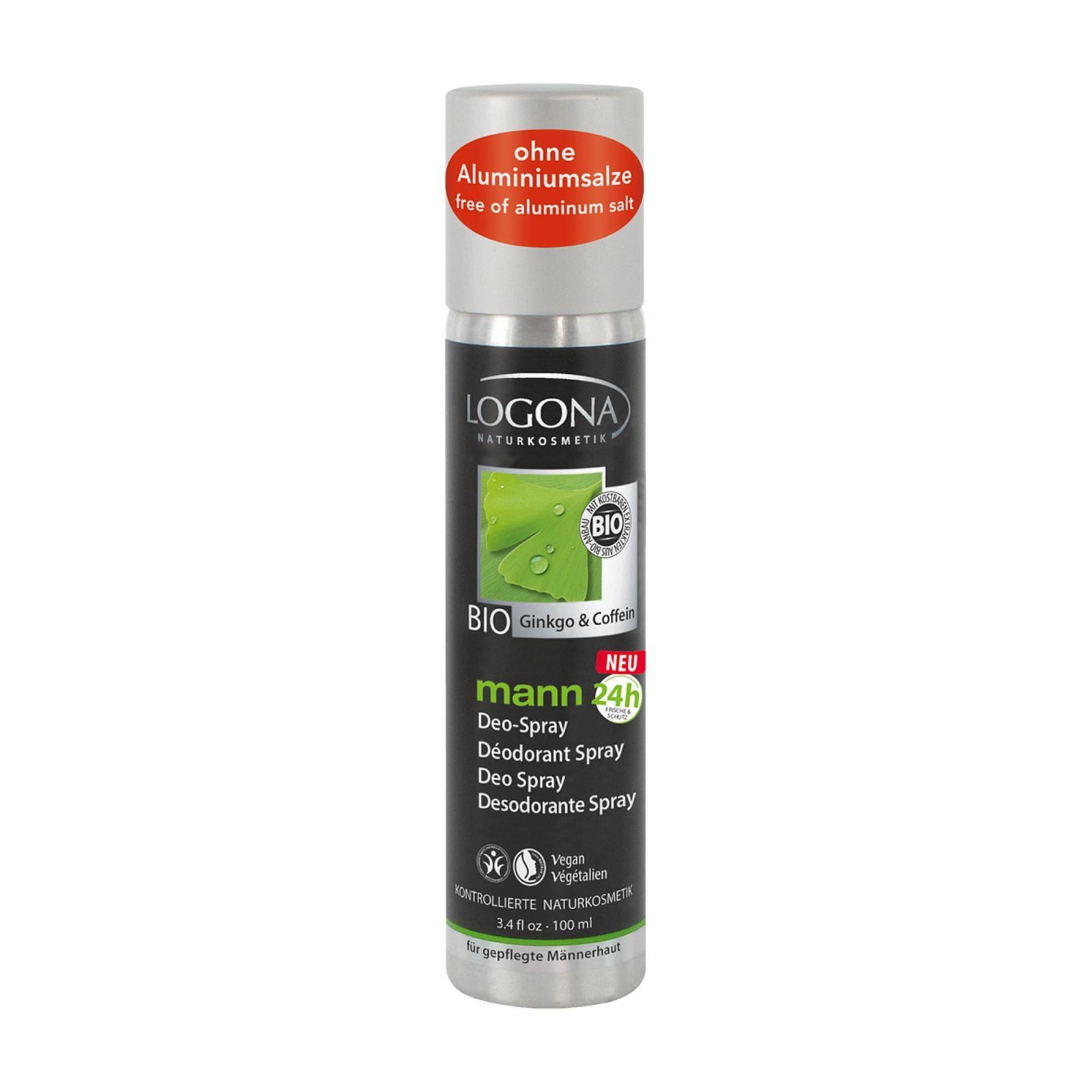 Logona Deodorant Sprej, Mann 100 ml
