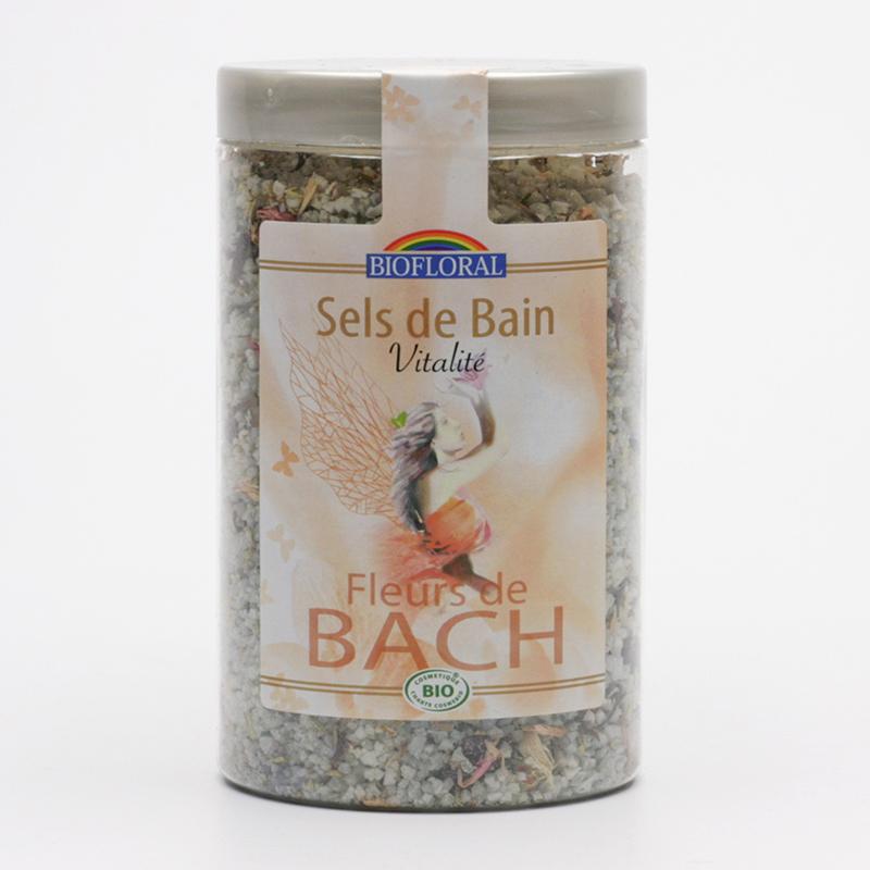 Biofloral Sůl do koupele s květy Dr. Bacha vitalita 320 g