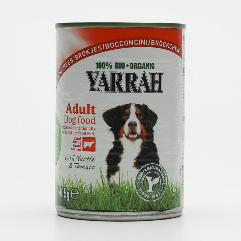 Yarrah Kousky hovězí pro psy 405 g
