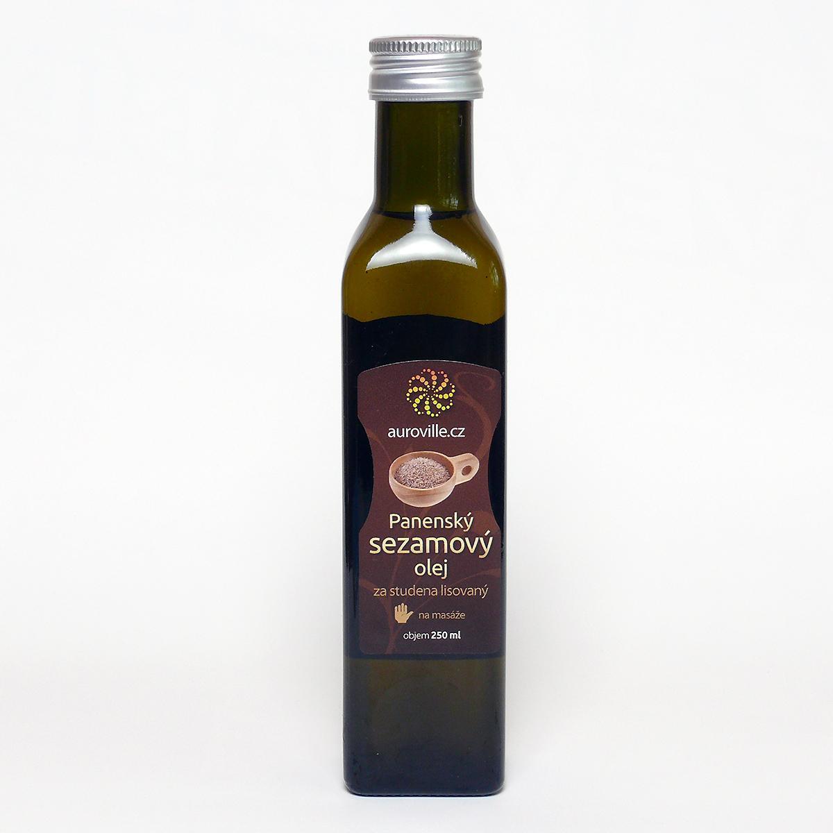 Auroville Sezamový olej bio 250 ml
