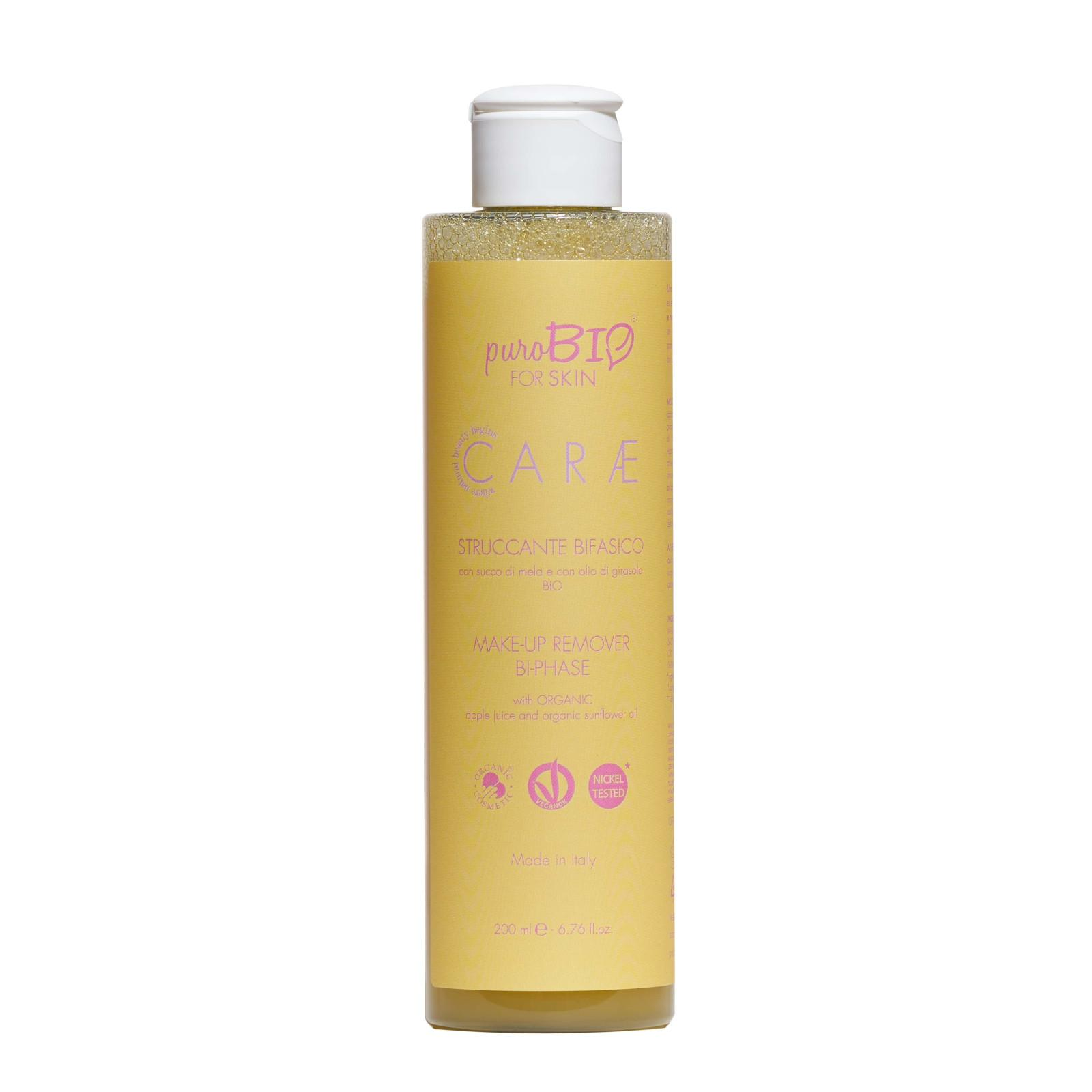 puroBIO cosmetics Dvoufázový odličovač make-upu 200 ml
