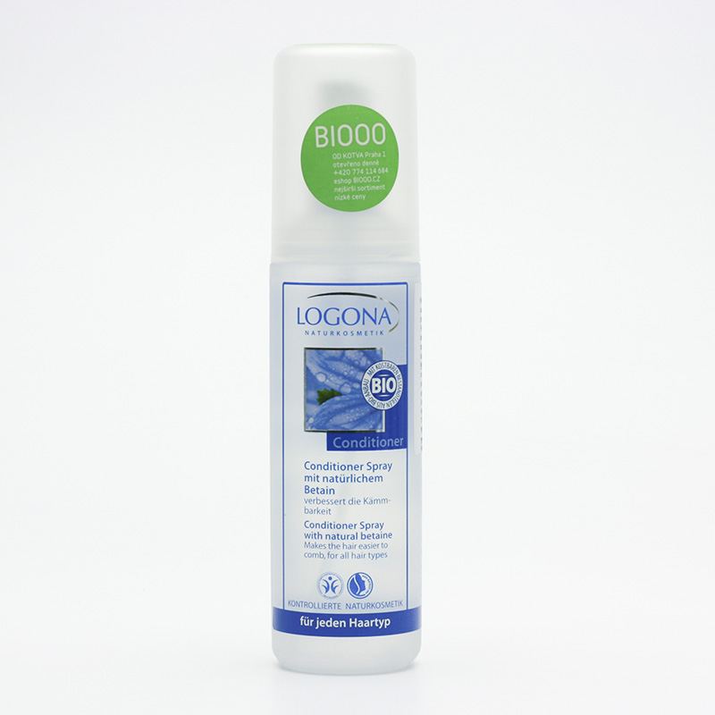 Logona Kondicionér sprej s přírodním betainem 150 ml