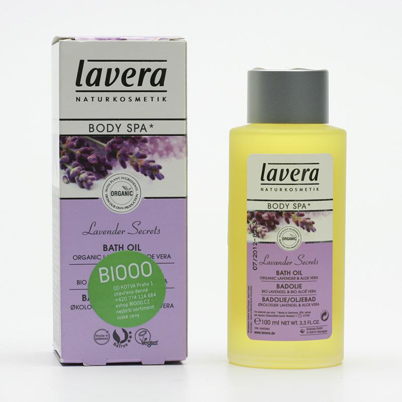 Lavera Koupelový olej levandule a aloe vera, Body Spa 100 ml