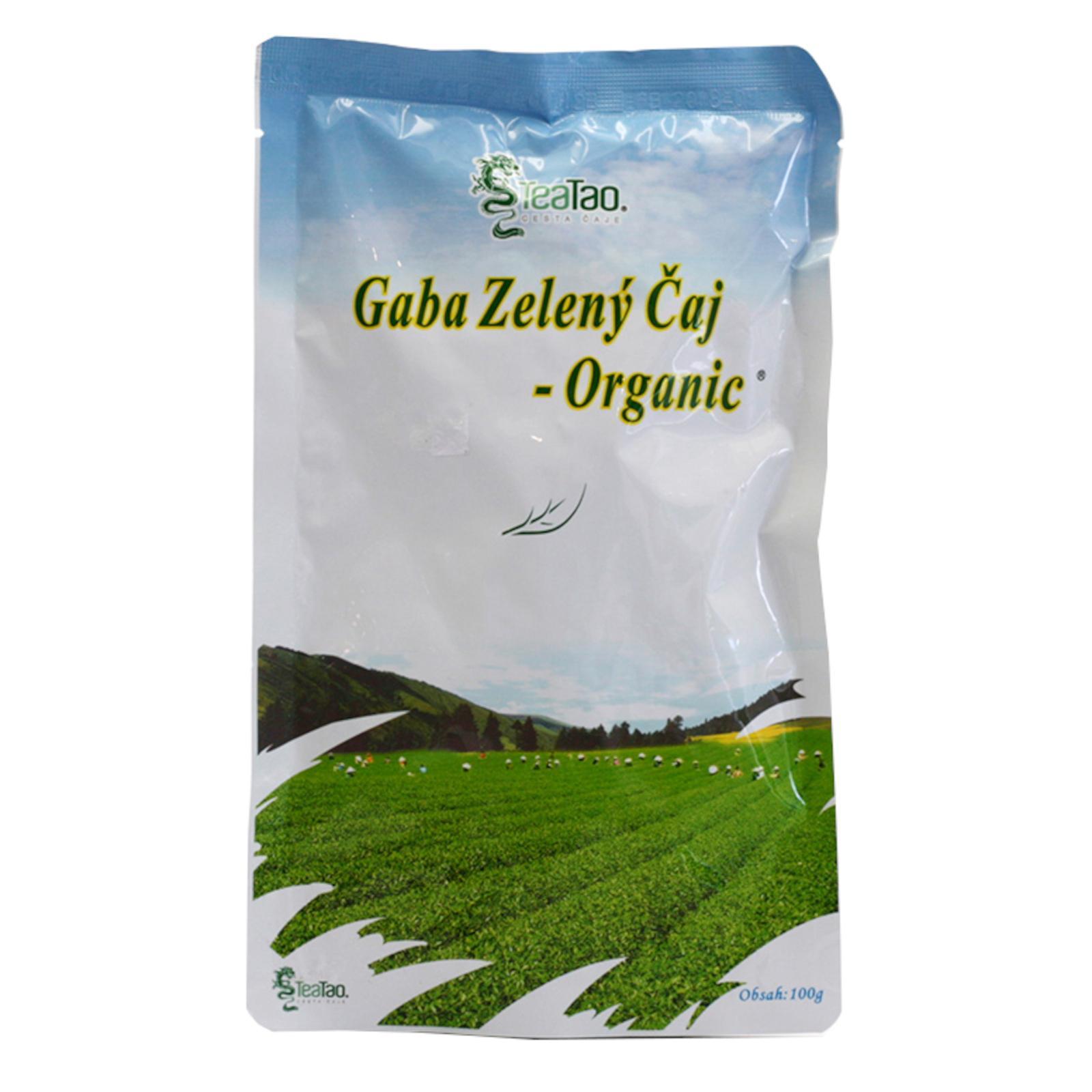 TeaTao Zelený čaj Gaba 100 g