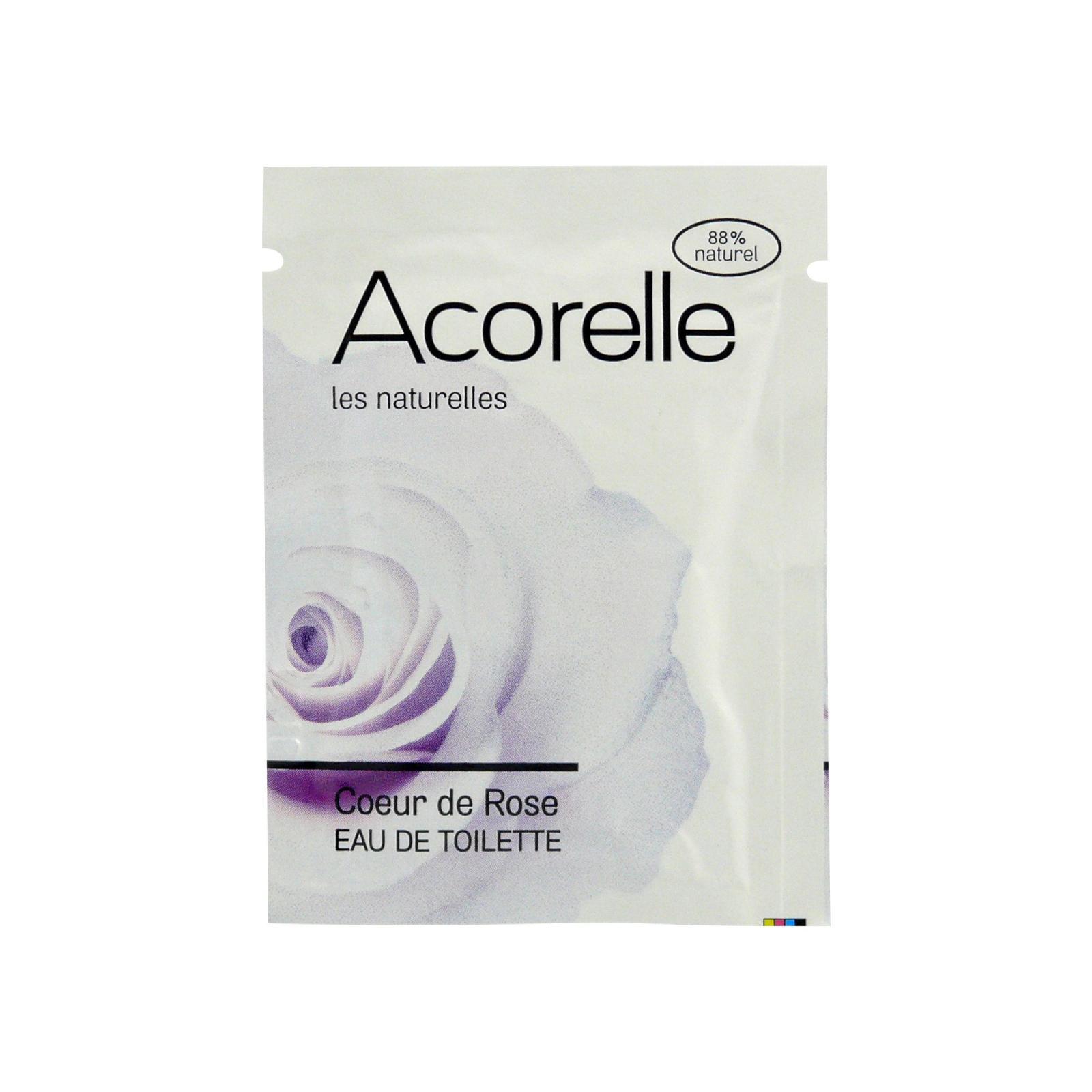 Acorelle Toaletní voda Růže 3 ml, vonný kapesník
