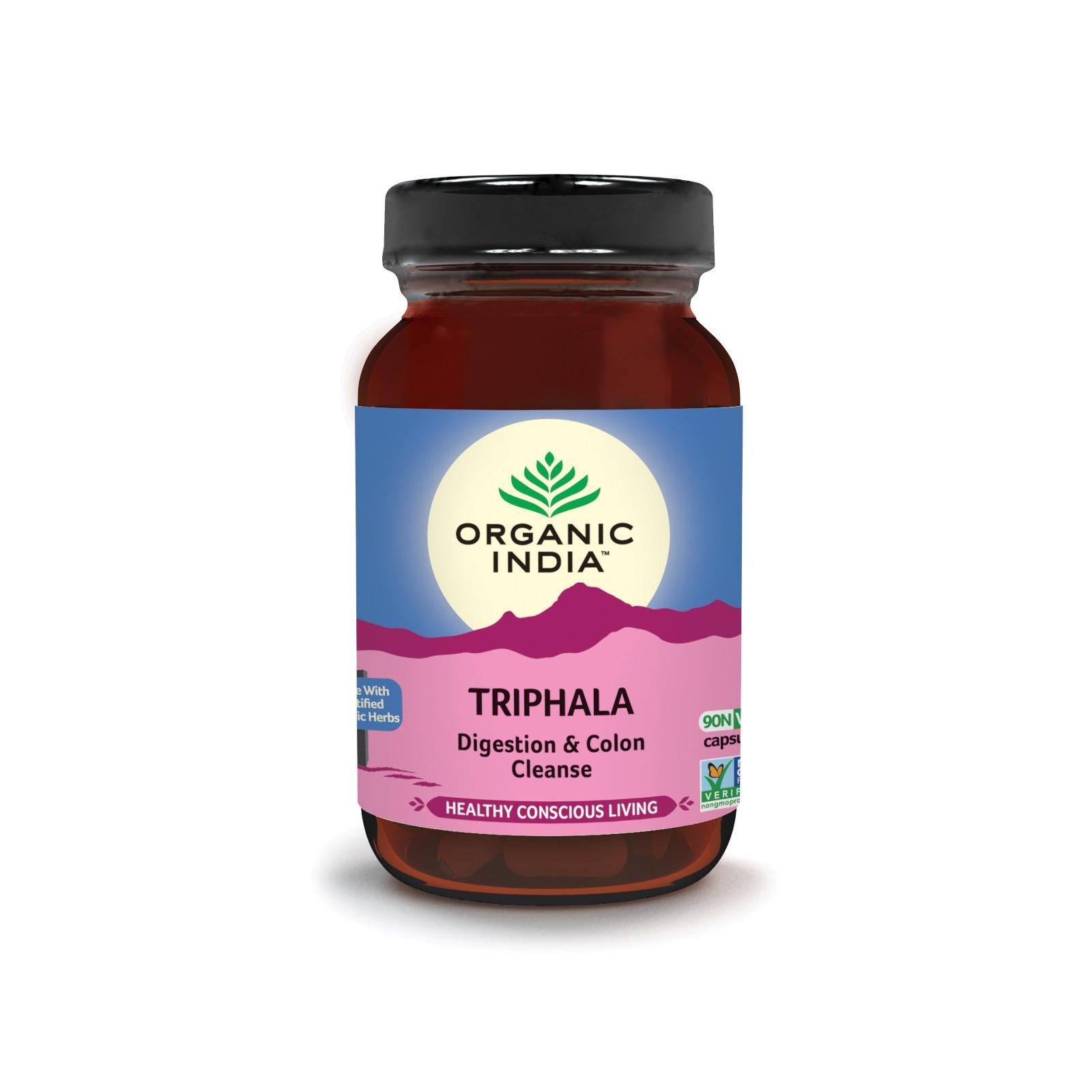 Organic India Triphala, kapsle 60 ks