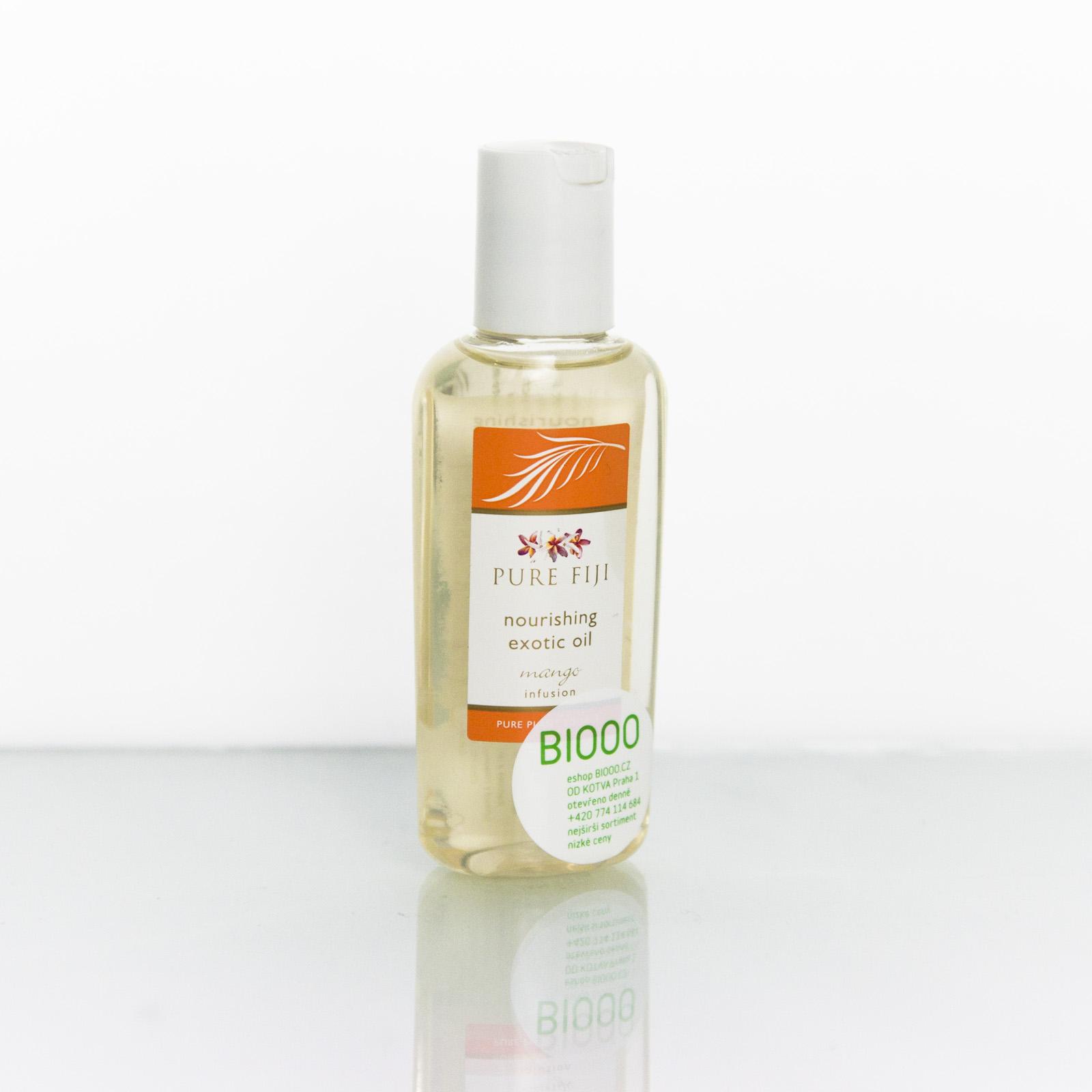 Pure Fiji Exotický masážní a koupelový olej, mango 59 ml