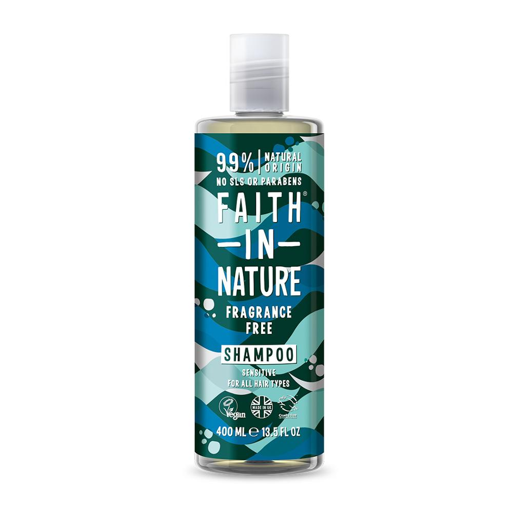 Faith in Nature Šampon bez parfemace 400 ml