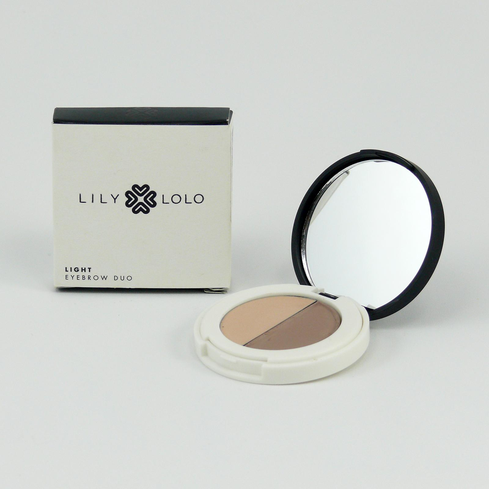 Lily Lolo Mineral Cosmetics Duo na obočí Light 2 g