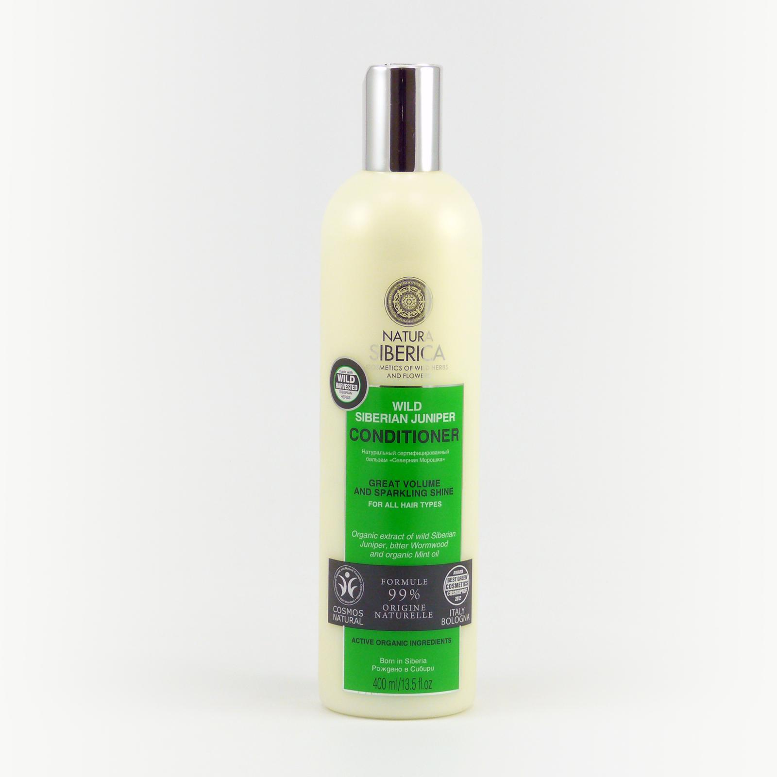 Natura Siberica Kondicionér pro všechny typy vlasů Divoký jalovec 400 ml
