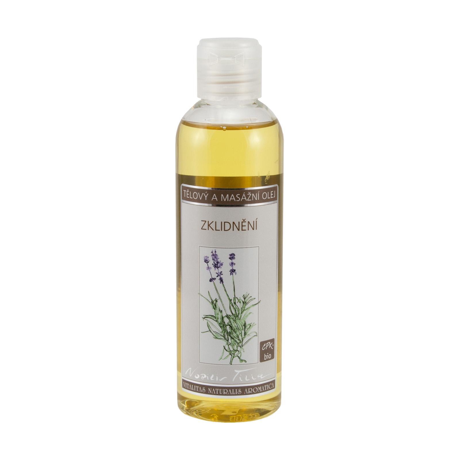 Nobilis Tilia Tělový a masážní olej Zklidnění 200 ml