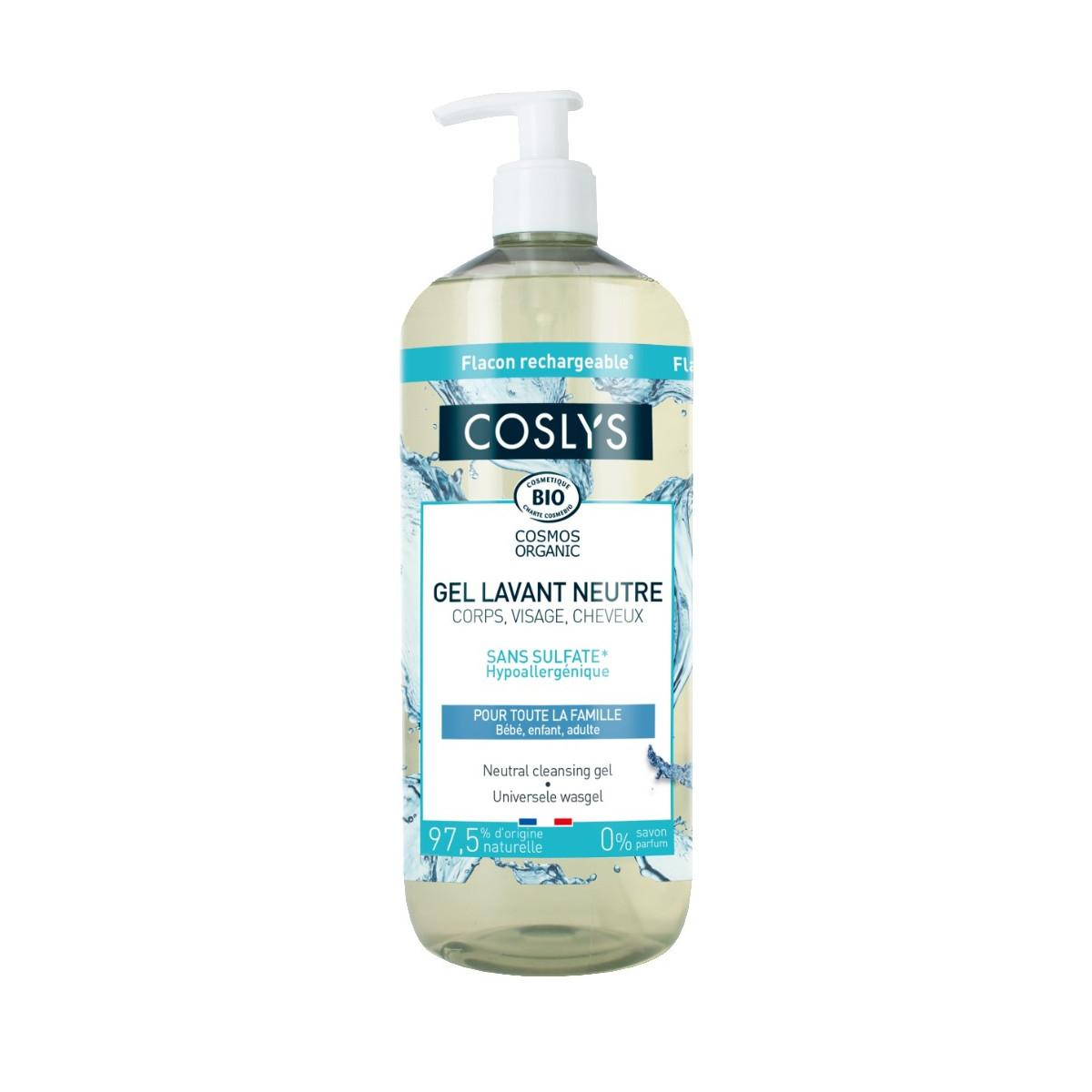 Coslys Hypoalergenní mycí gel 1 l