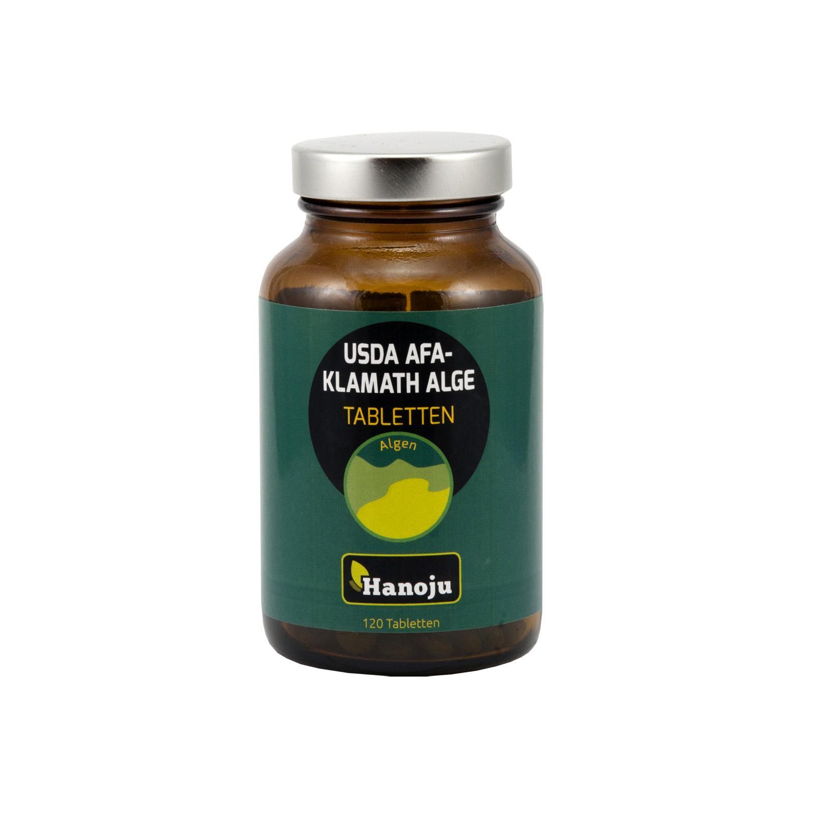 Hanoju AFA Klamath řasy 120 tablet