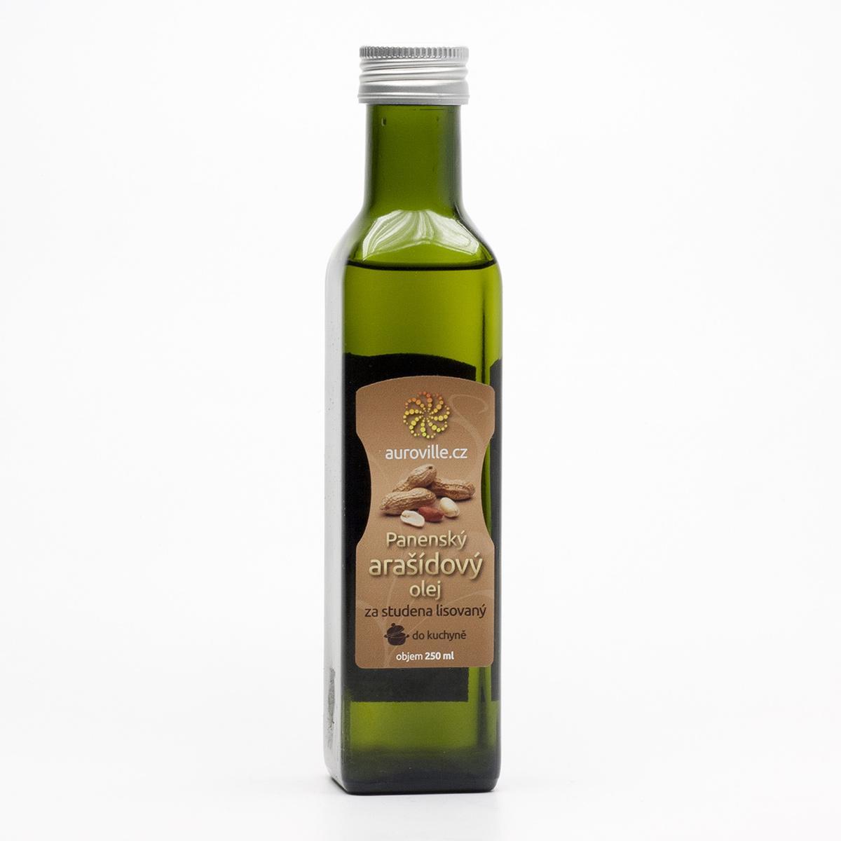Auroville Arašídový olej bio 250 ml